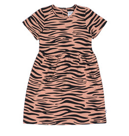 CarlijnQ Tiger dress shortsleeve