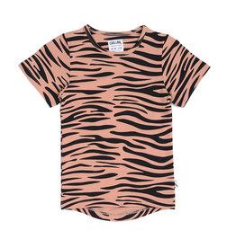CarlijnQ Tiger t-shirt drop back