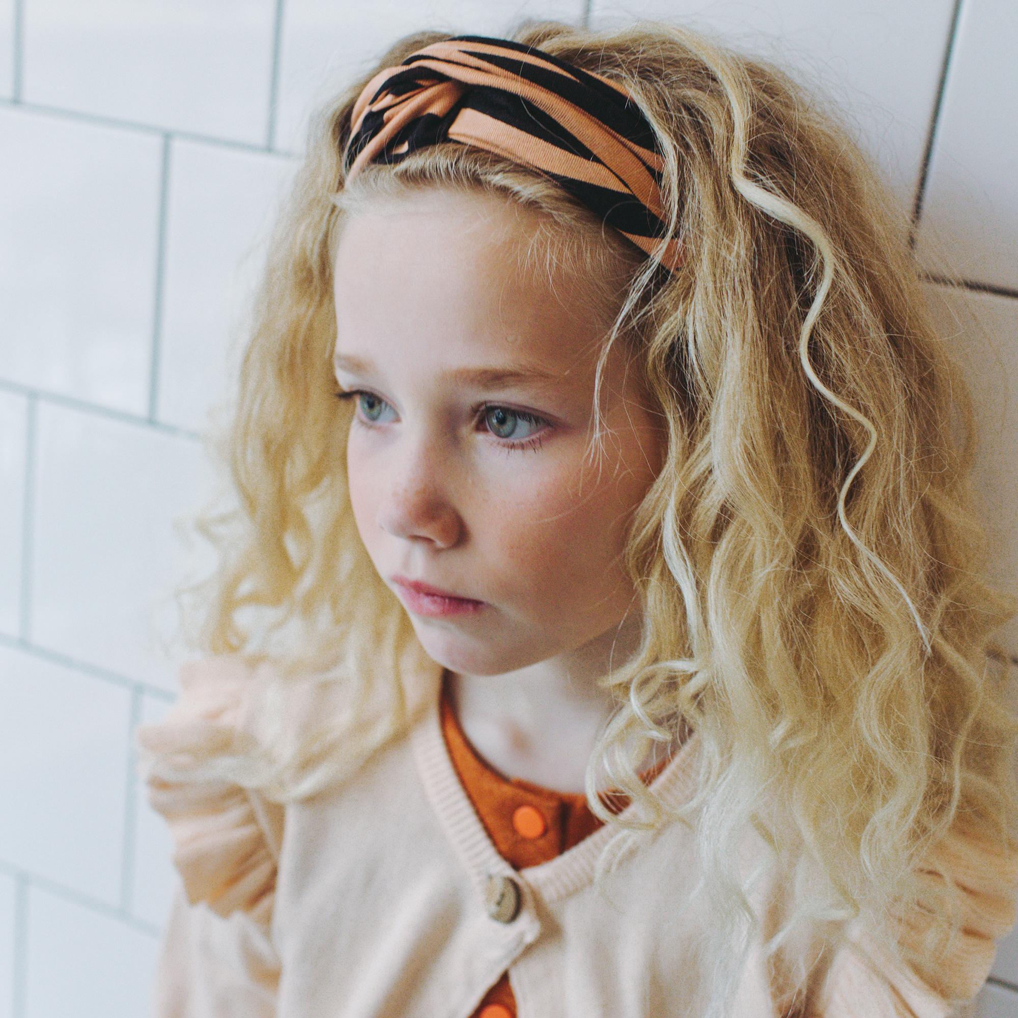 CarlijnQ Tiger twisted headband