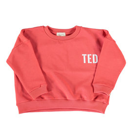 piupiuchick Sweatshirt | red w/ white print | TED