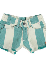 piupiuchick Shorts | emerald stripes