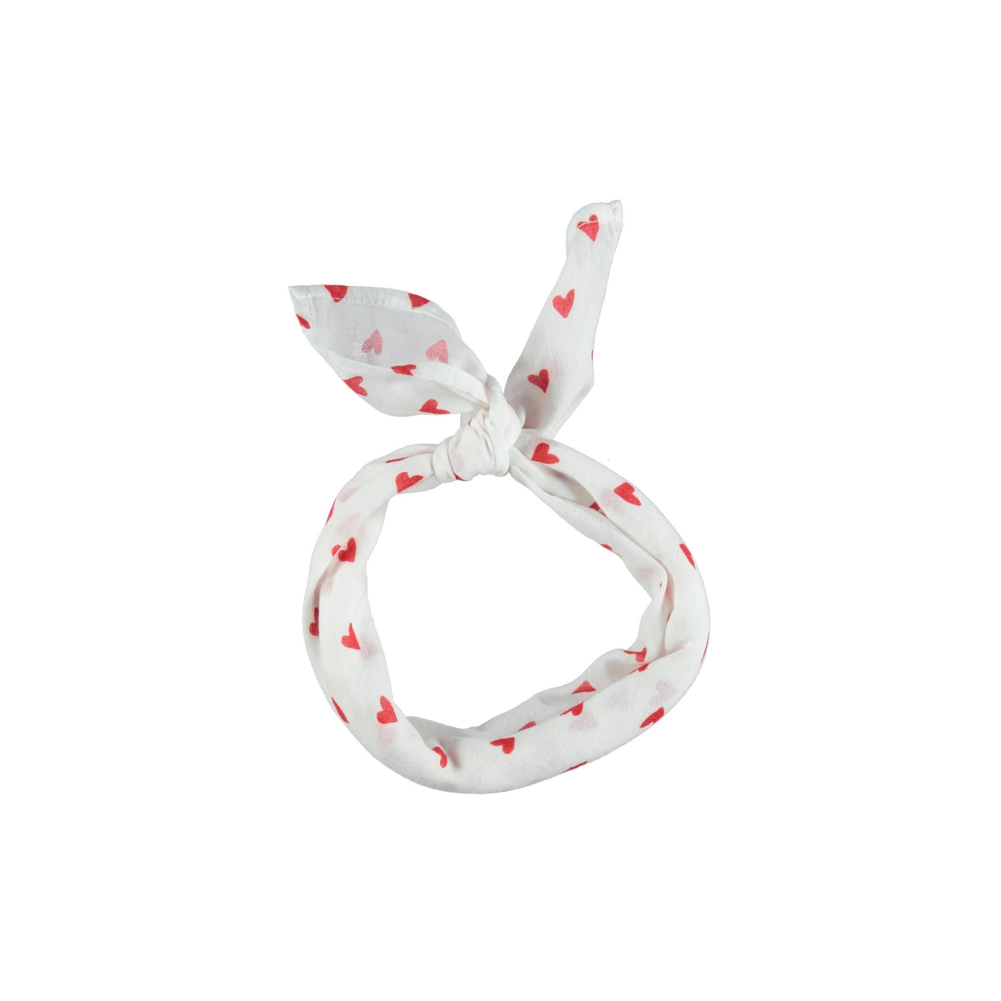 piupiuchick Bandana | red hearts pattern