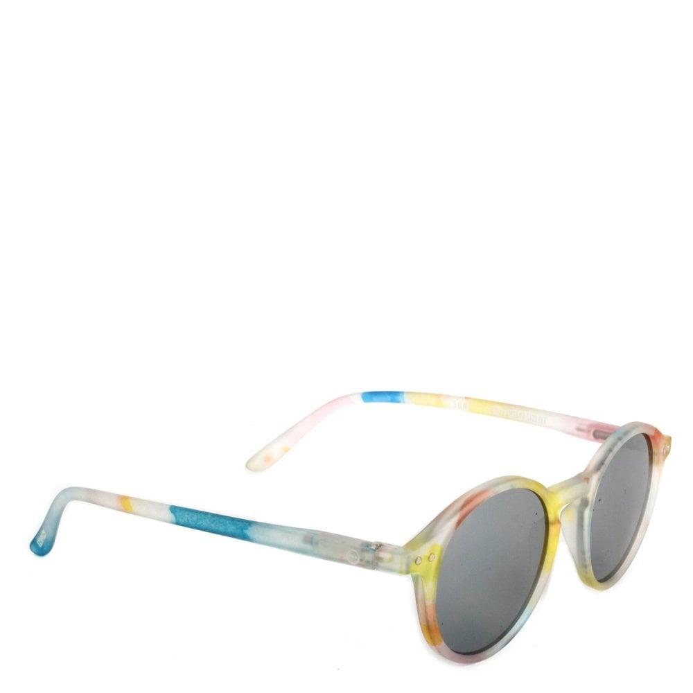Izipizi Sunglasses flash lights | silver mirror lenses #C
