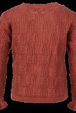 en'fant Knit cardigan | canyon rose