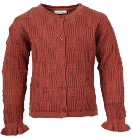 en'fant Knit cardigan | canyon rose