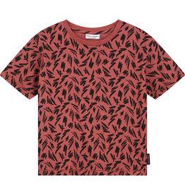 DAILY BRAT Flinn t-shirt marsala