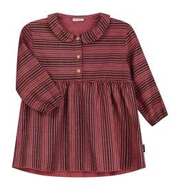 DAILY BRAT Ava linen dress marsala