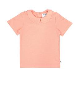 CarlijnQ Basics t-shirt collar pink