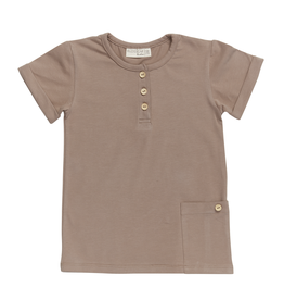 Blossom kids Shirt short sleeve | Creamy cacao