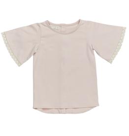 Blossom kids Tunic short sleeve | Pale blush