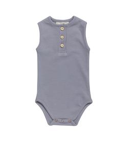 Blossom kids Body tanktop soft rib | Blue grey