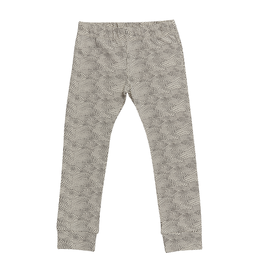 Blossom kids Legging dotted waves | Chocolate Brown