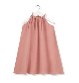 Kids on the moon Coral cloud strap dress