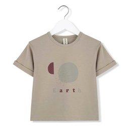 Kids on the moon Art t-shirt