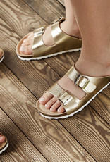 en'fant Sandal with buckles   gold