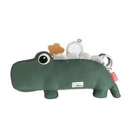 Done by Deer Tummy time activity toy Croco | green
