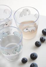 Done by Deer Yummi mini glass deer friends | blue