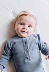 Blossom kids Baby jumpsuit | Blue Grey