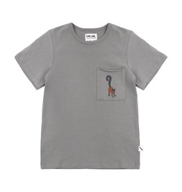 CarlijnQ Maki t-shirt | embroidery