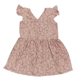 Blossom kids Muslin dress | Butterfly