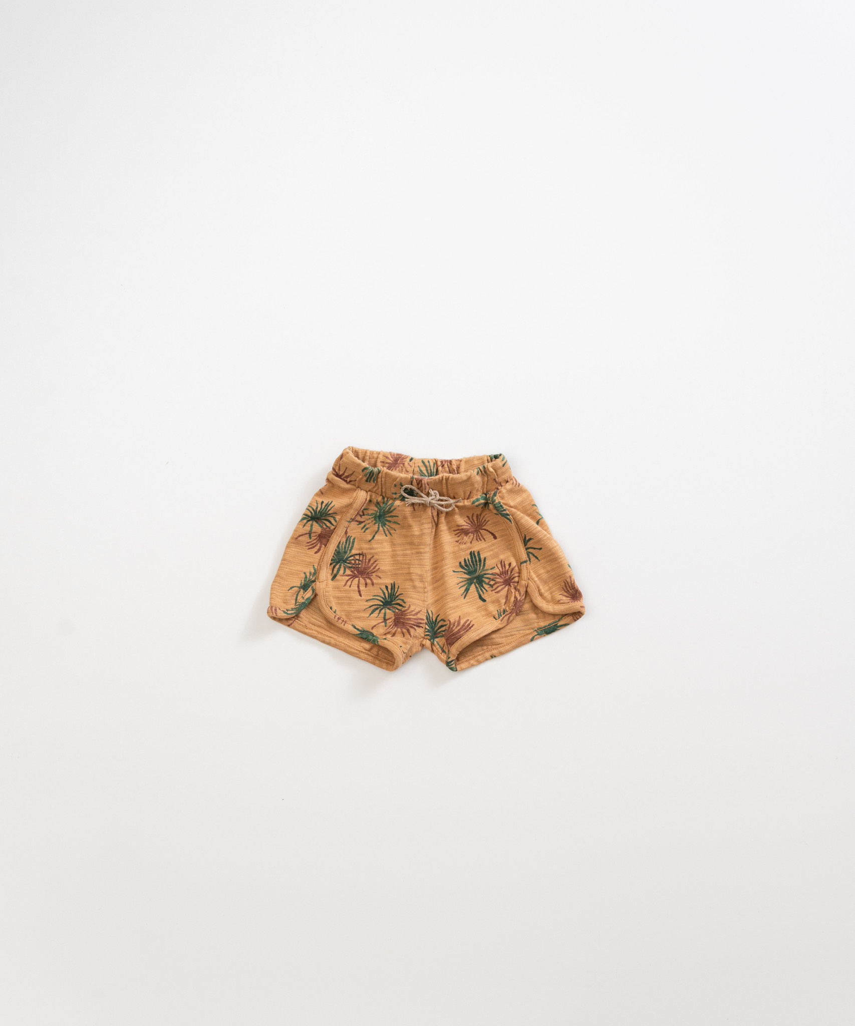 Play-up Cotton shorts with print |Raffia