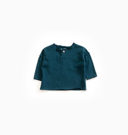 Play-up Sweater in organic cotton |Deep