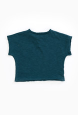 Play-up T-shirt in organic cotton with pocket  Deep