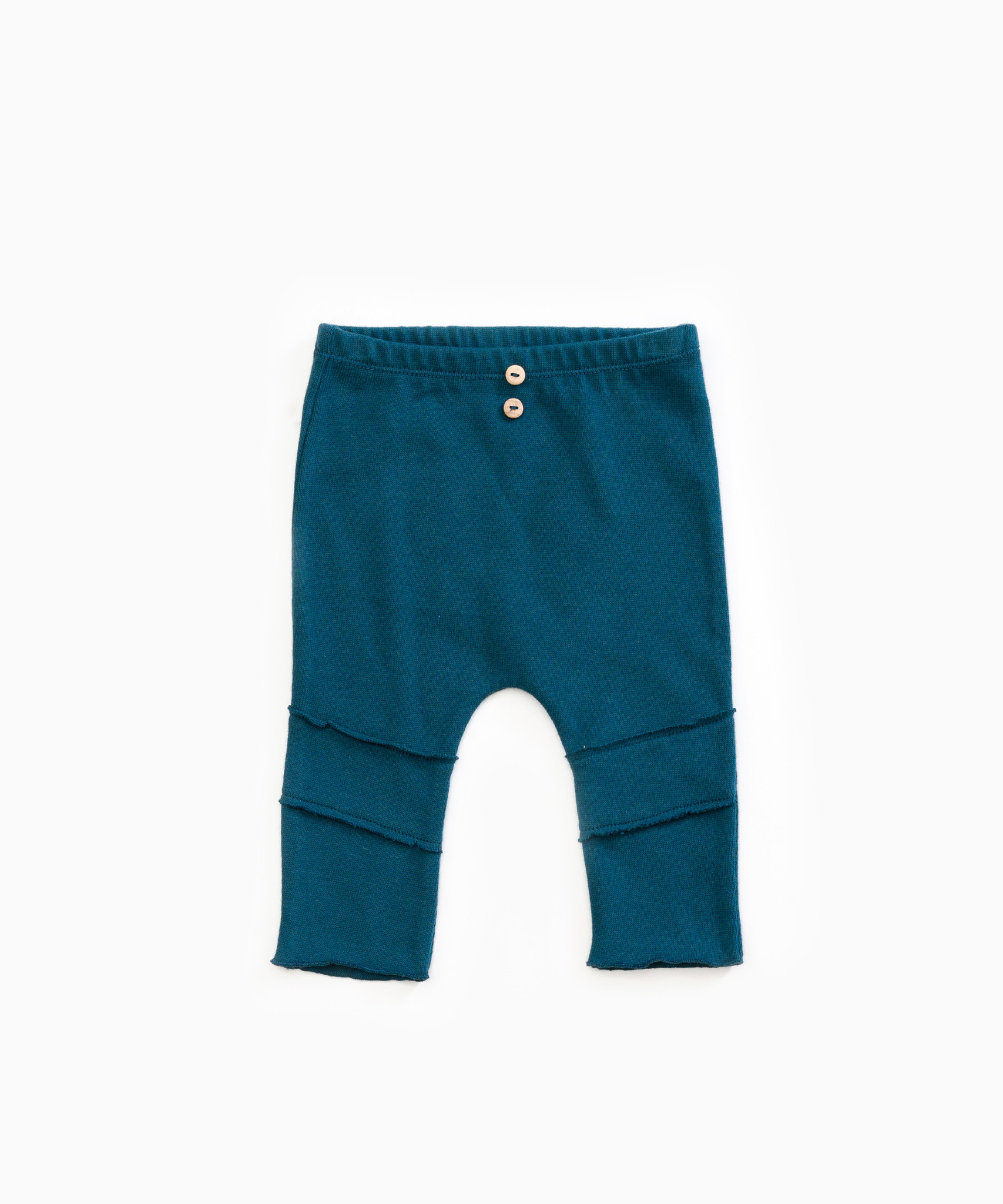 Play-up Knitted leggings with decorative buttons  Deep
