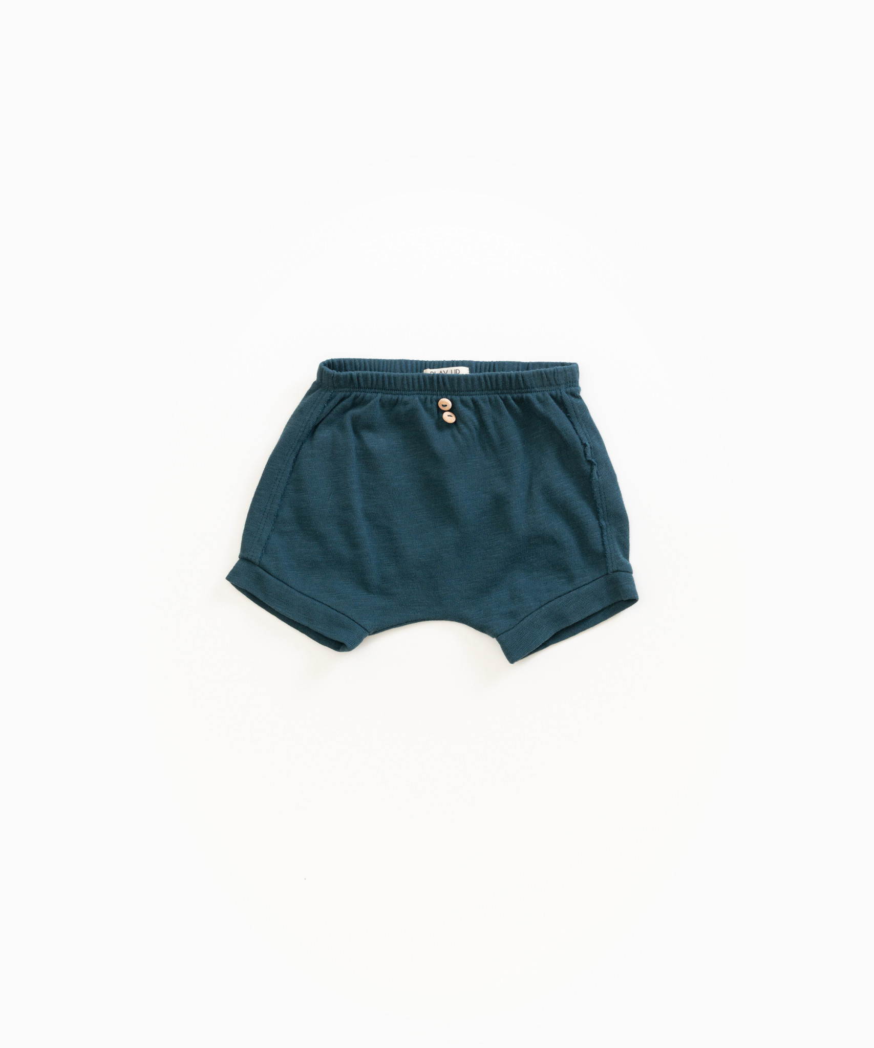 Play-up Shorts with pocket in organic cotton |Deep
