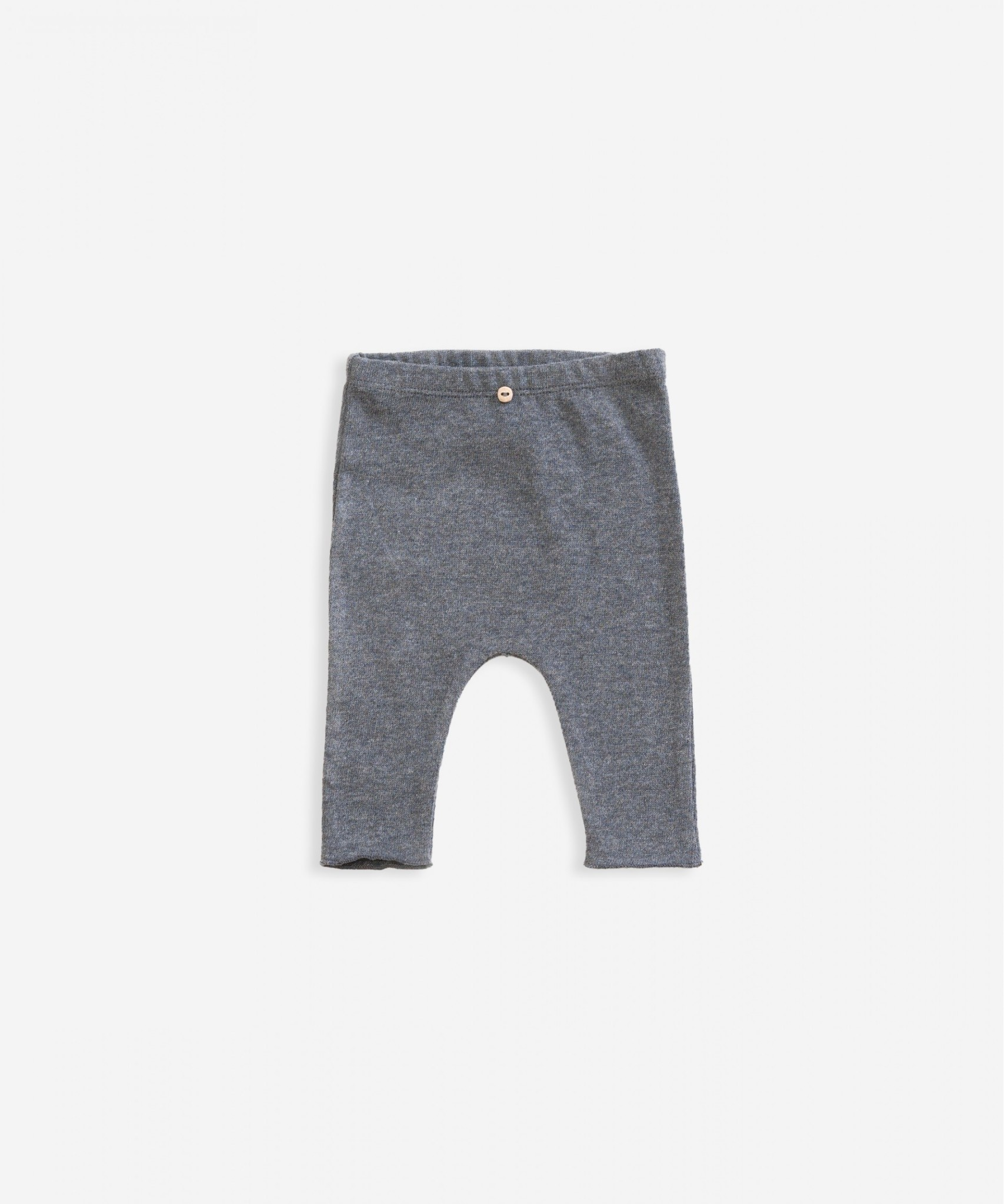 Play-up Cotton trousers with decorative button  Boulder