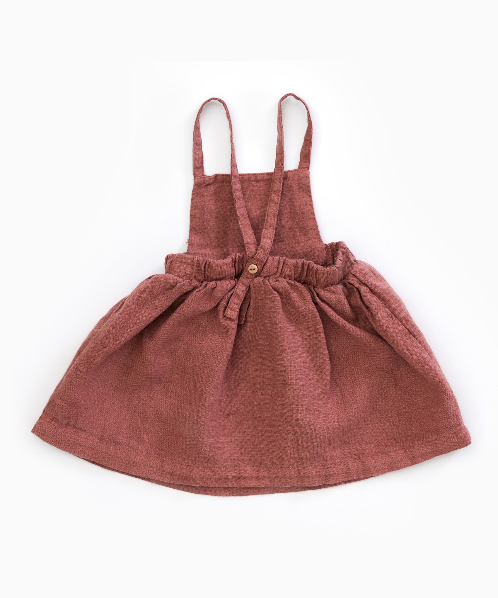 Play-up Dress in fabric with pockets | Old tile