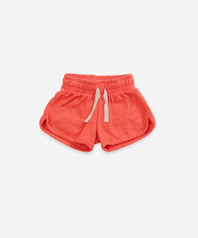 Play-up Terry Shorts | peach