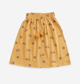 Play-up Printed Jersey Skirt | sea almond