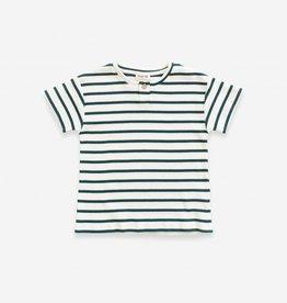Play-up Striped Rib T-shirt