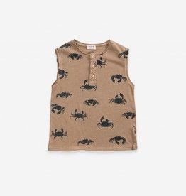 Play-up Printed Jersey Sleeveless T-shirt