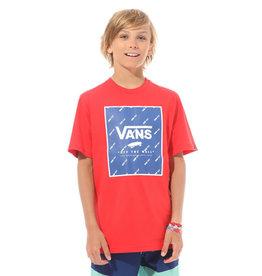 Vans Print box t-shirt | racing red