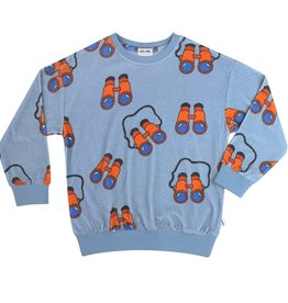 CarlijnQ Binocular sweater | print AOP