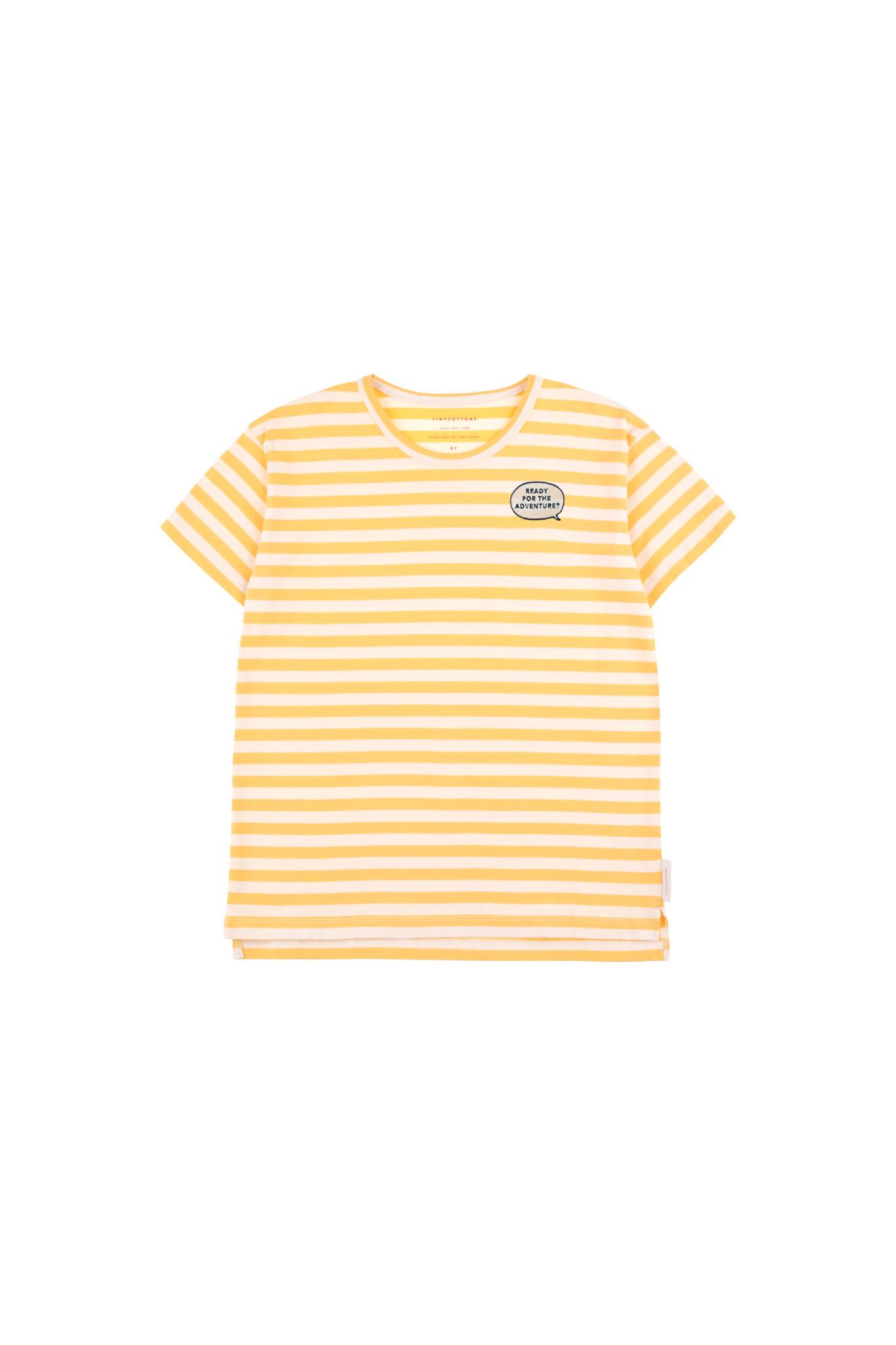 Tiny Cottons Adventure stripes ss TEE