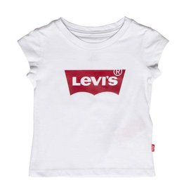 Levi's T-shirt batwing white   girls