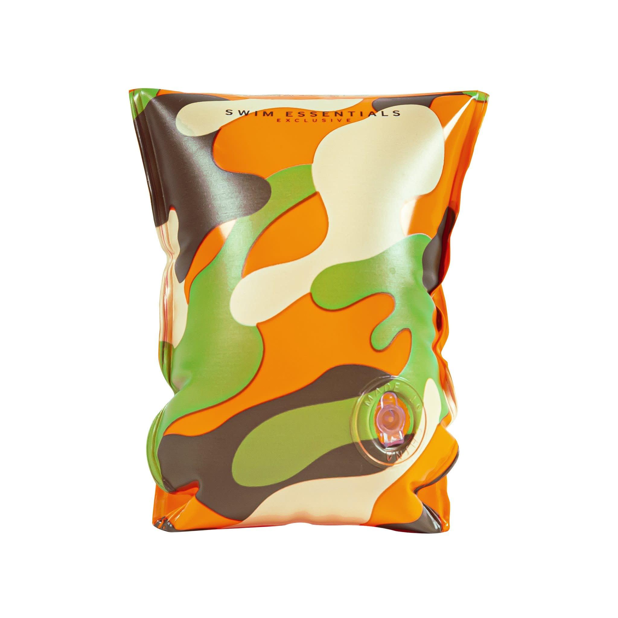 swim essentials zwembandjes camouflage