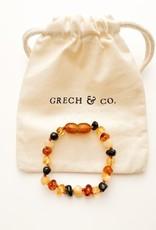 Grech & Co Baltic armband Amber Faith