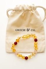 Grech & Co Baltic Amber armband Goddess