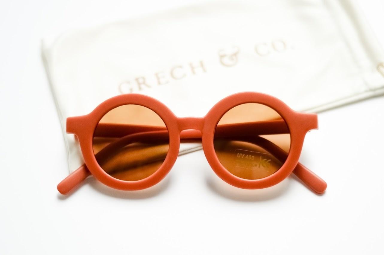 Grech & Co Kids zonnebril rust