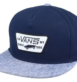 Vans snapback |  dress blues