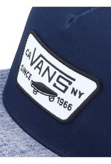 Vans snapback |  dress blues