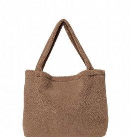 Studio Noos Brown chunky teddy mom bag