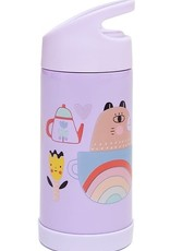 Petit Monkey Stainless steel drinking bottle apple of my eye