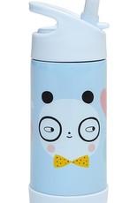 Petit Monkey Stainless steel drinking bottle panda love
