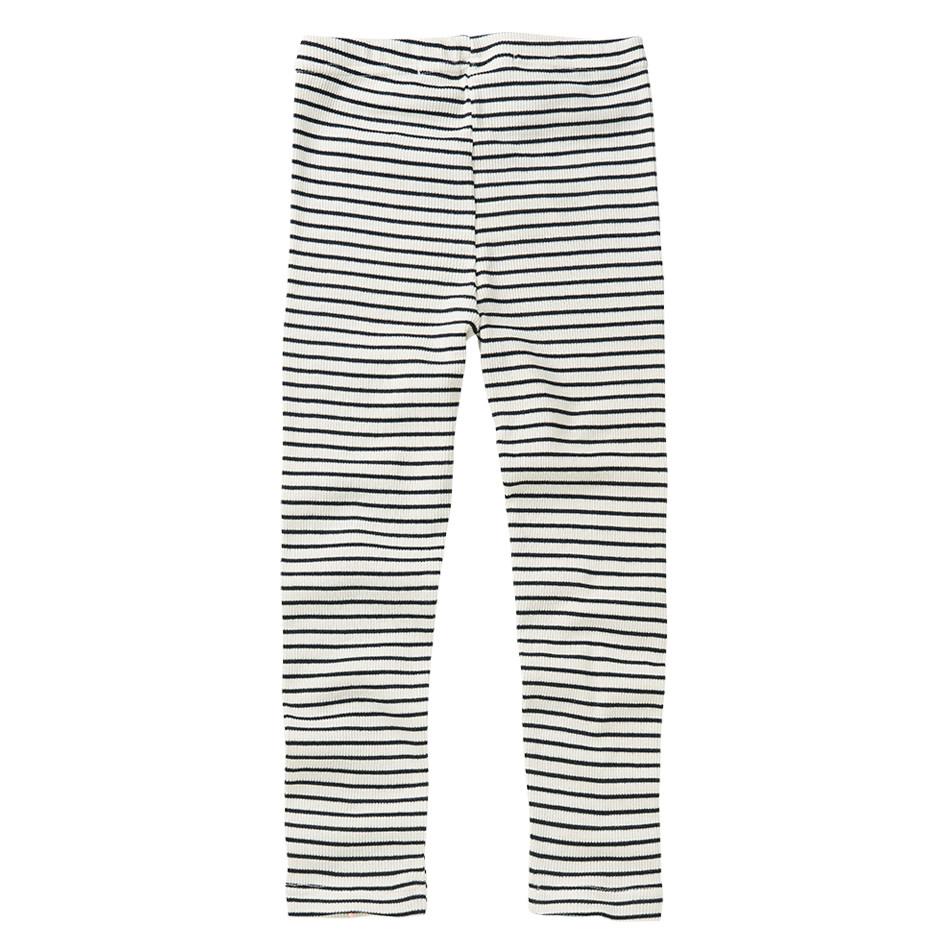 Mingo Legging rib | black/white