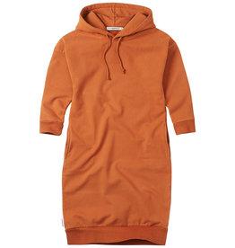 Mingo Sweaterdress hoodie   dark ginger